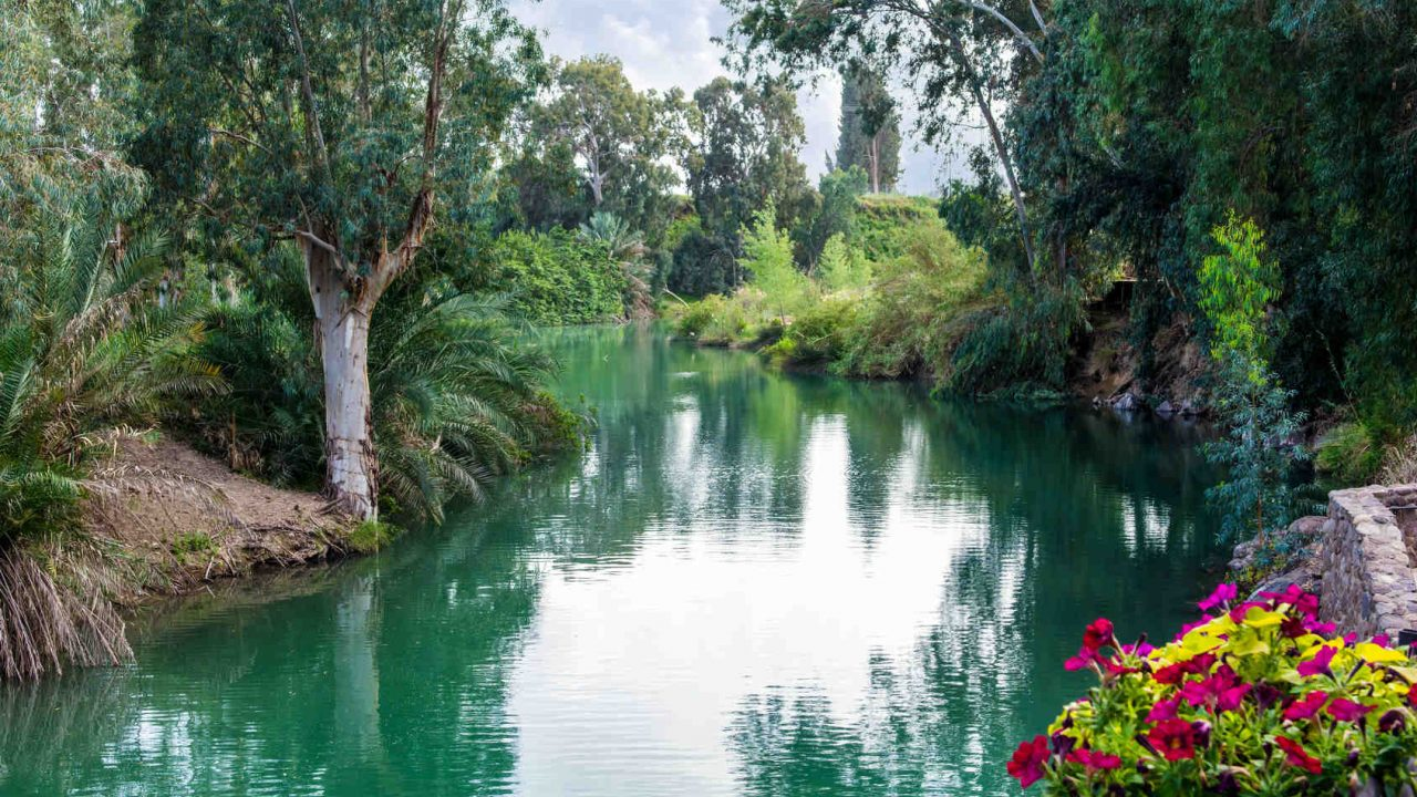 Baptême dans le Jourdain Israël Oasis