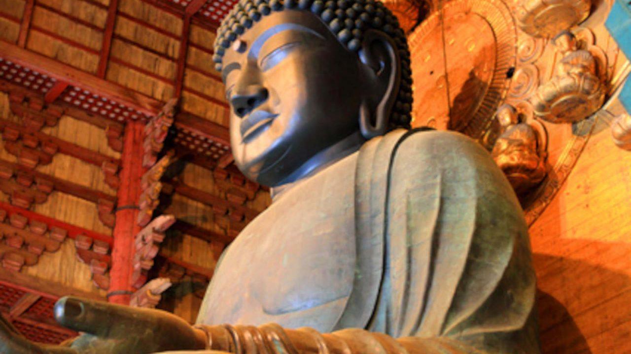 Majestueux Bouddha Japon Oasis