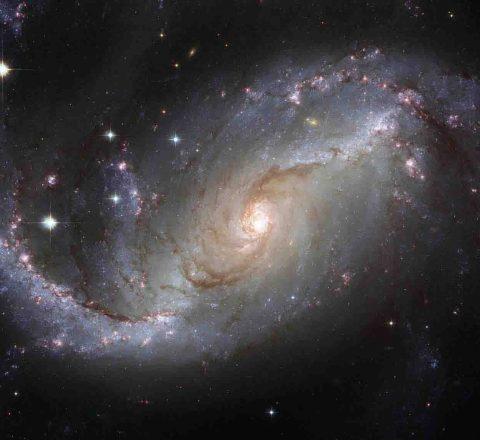 Observatoire astronomique, Désert d'Atacama, Chili, Oasis