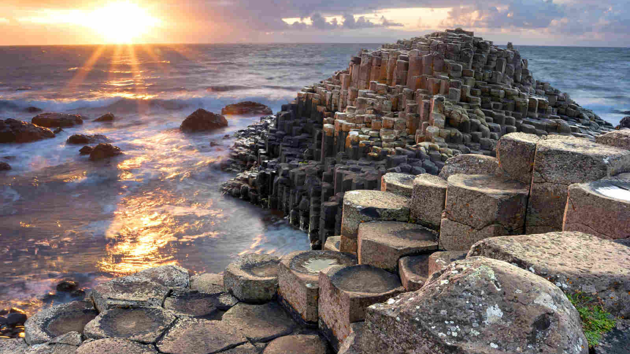 Contemplation Chaussée Géants Irlande Oasis