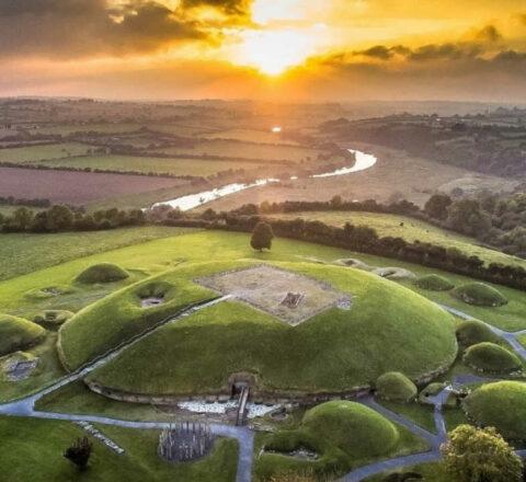 Découverte Knowth Irlande Oasis