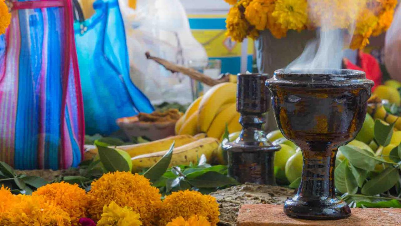 Offrandes et copal, Mexique, Oasis