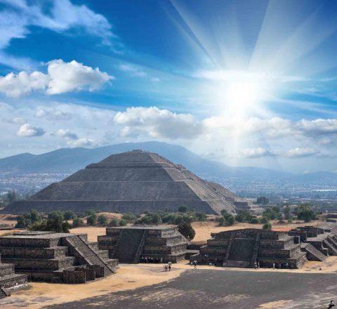Voyage en conscience à Teotihuacan, Mexique, Oasis