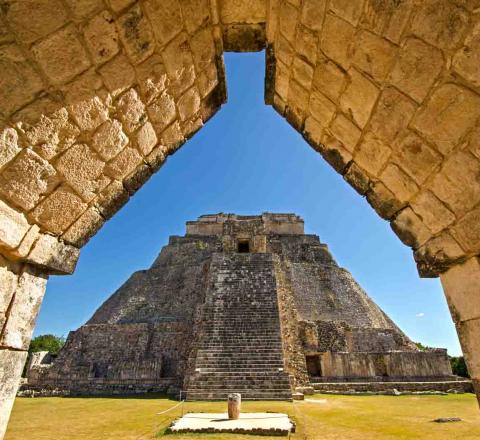 Site archéologique d'Uxmal et initiation maya, Yucatan, Mexique, Oasis