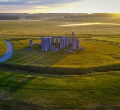 Beauté du site de Stonehenge Angleterre Oasis