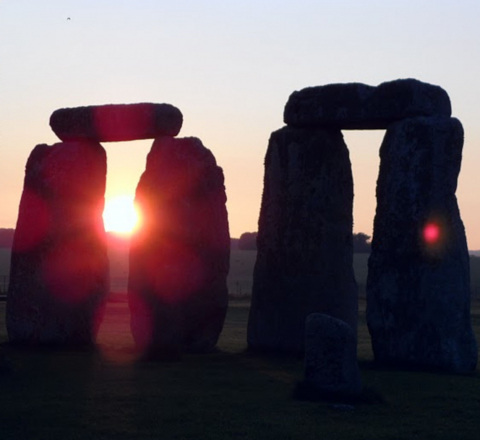 Mégalithes de Stonehenge Angleterre Oasis