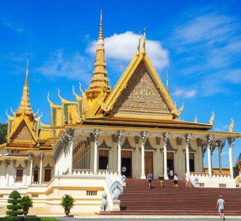 Palais royal Phnom Penh Cambodge Oasis