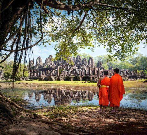 Rayonnement mystique d'Angkor Wat Cambodge Oasis