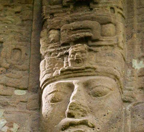 Quirigua, stèle maya, Guatemala, Oasis