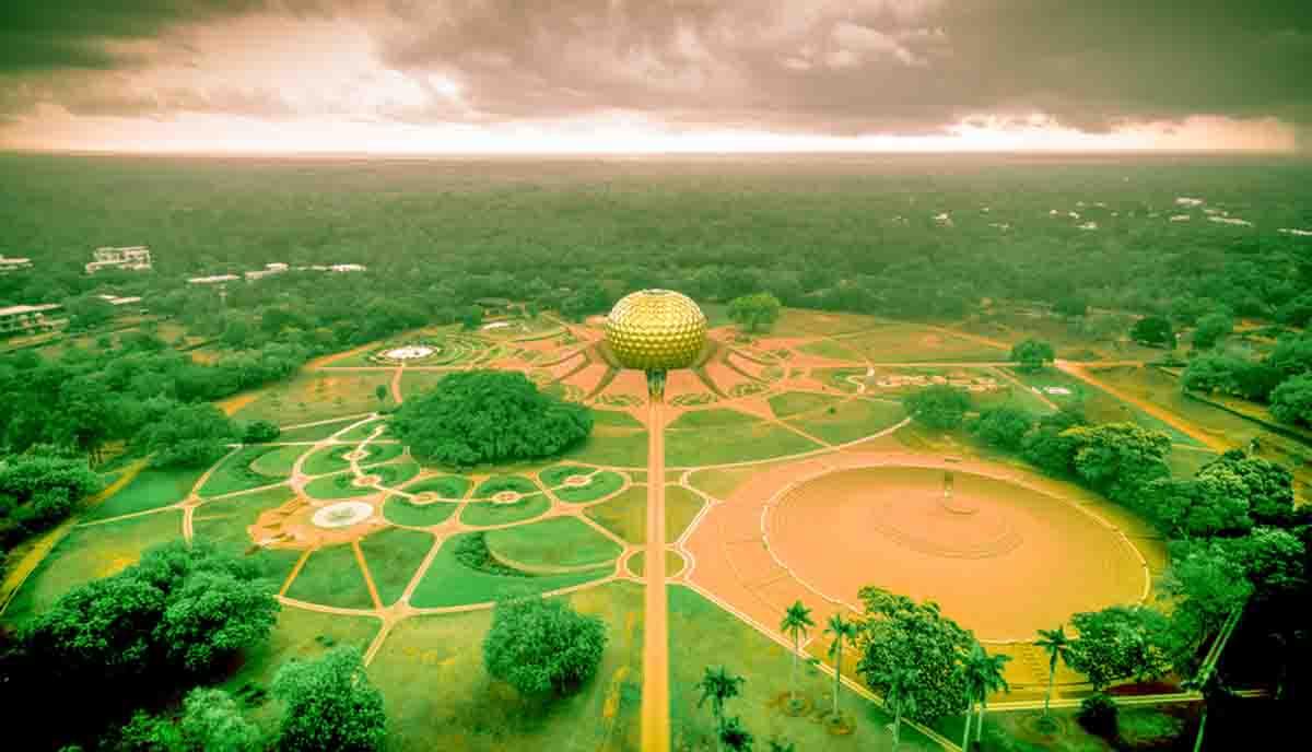 Auroville, Inde, Oasis