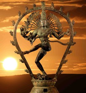Shiva en danseur cosmique, Inde, Oasis