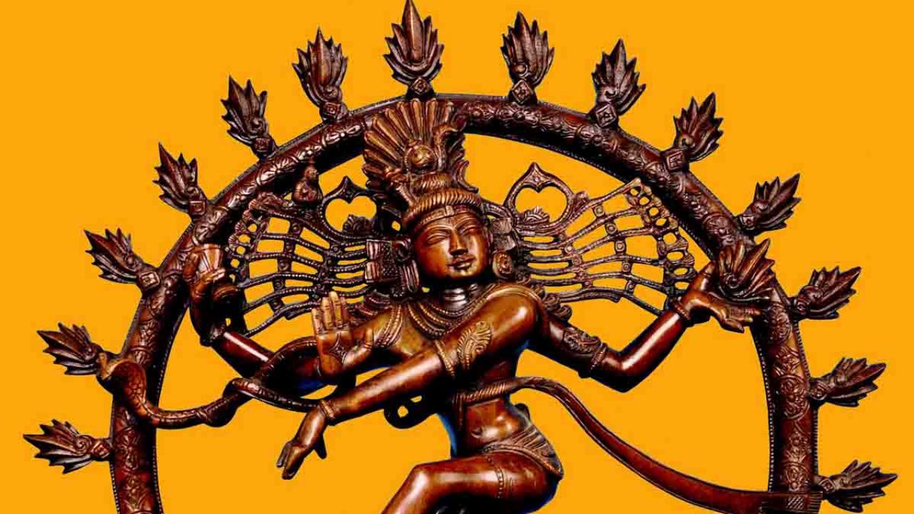 Shiva dans le temple de Nataraja, Inde, Oasis