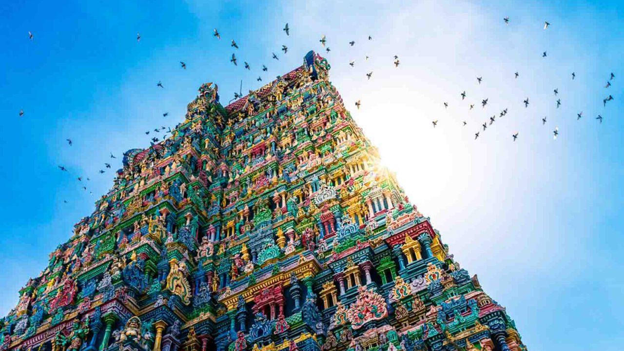 Temple de Meenakshi à Madurai, Inde, Oasis
