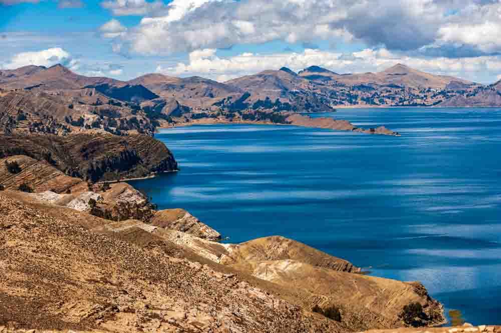 Lac Titicaca, Pérou, Oasis