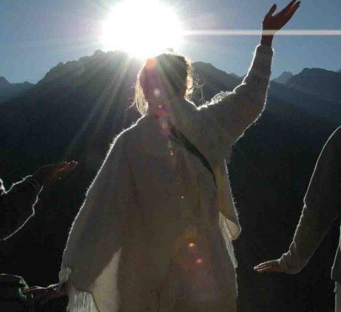 Initiation solaire au Machu Picchu, Pérou, Oasis