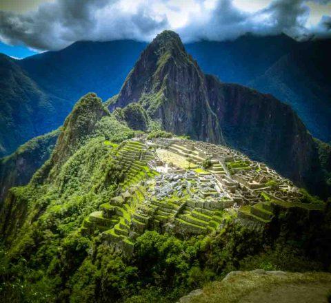 Lumière sur le Machu Picchu, Pérou, Oasis
