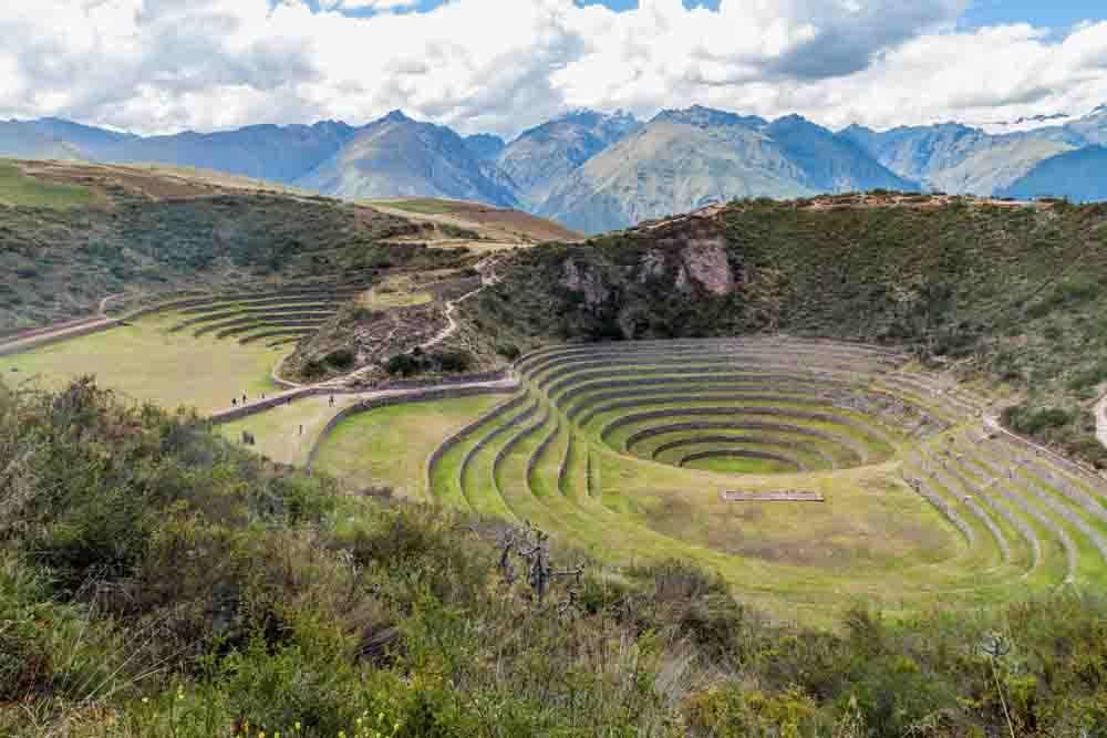 Cercles concentriques de Moray, Pérou, Oasis