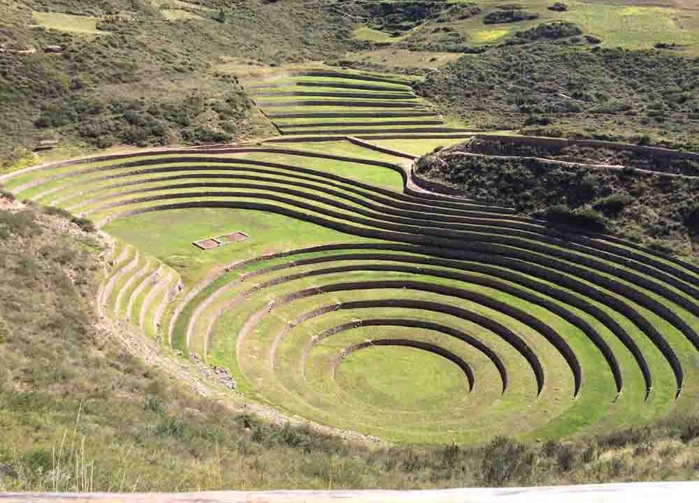 Terrasses de Moray, Pérou, Oasis
