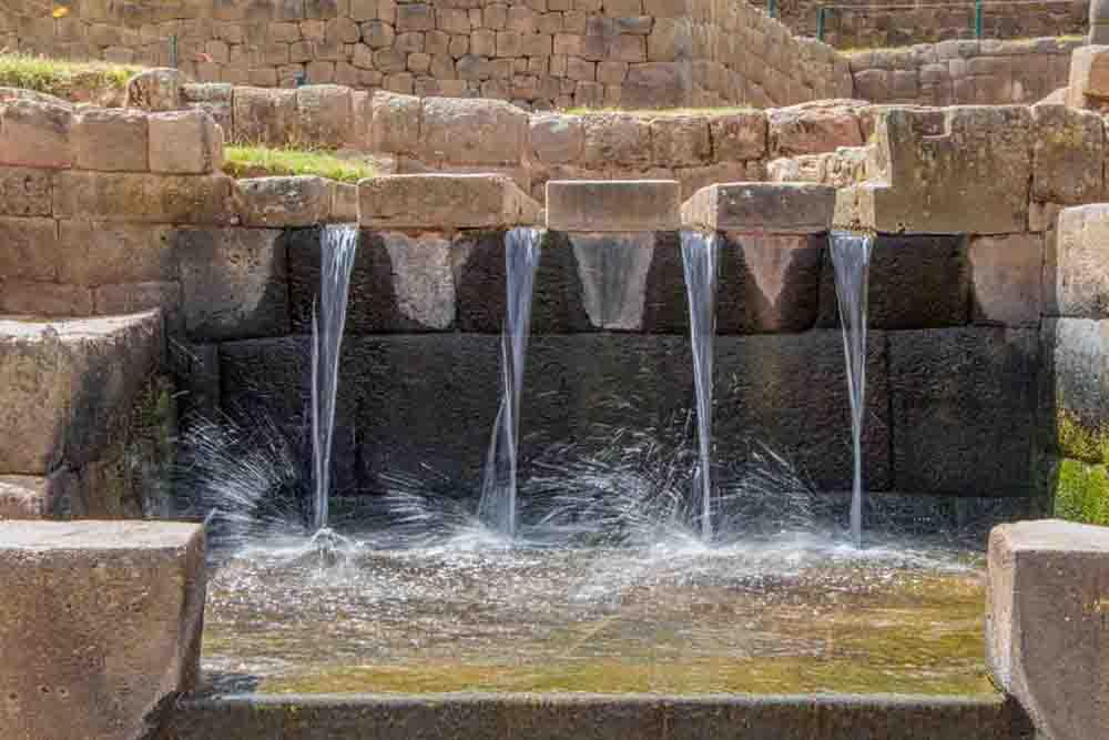 Tipon, cérémonie de purification, Pérou, Oasis