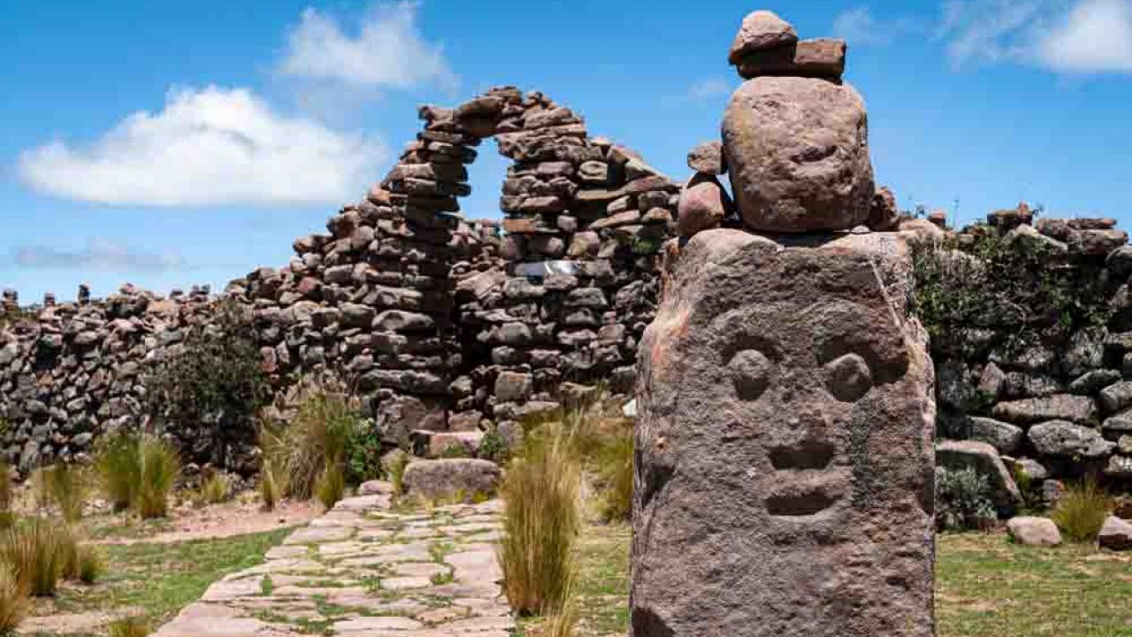 Ile de Taquile, Lac Titicaca, Pérou, Oasis