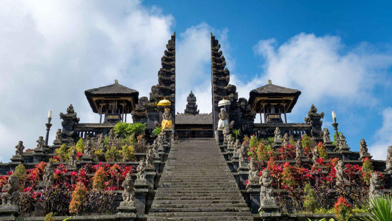 Élévation au temple Besakih Bali Oasis