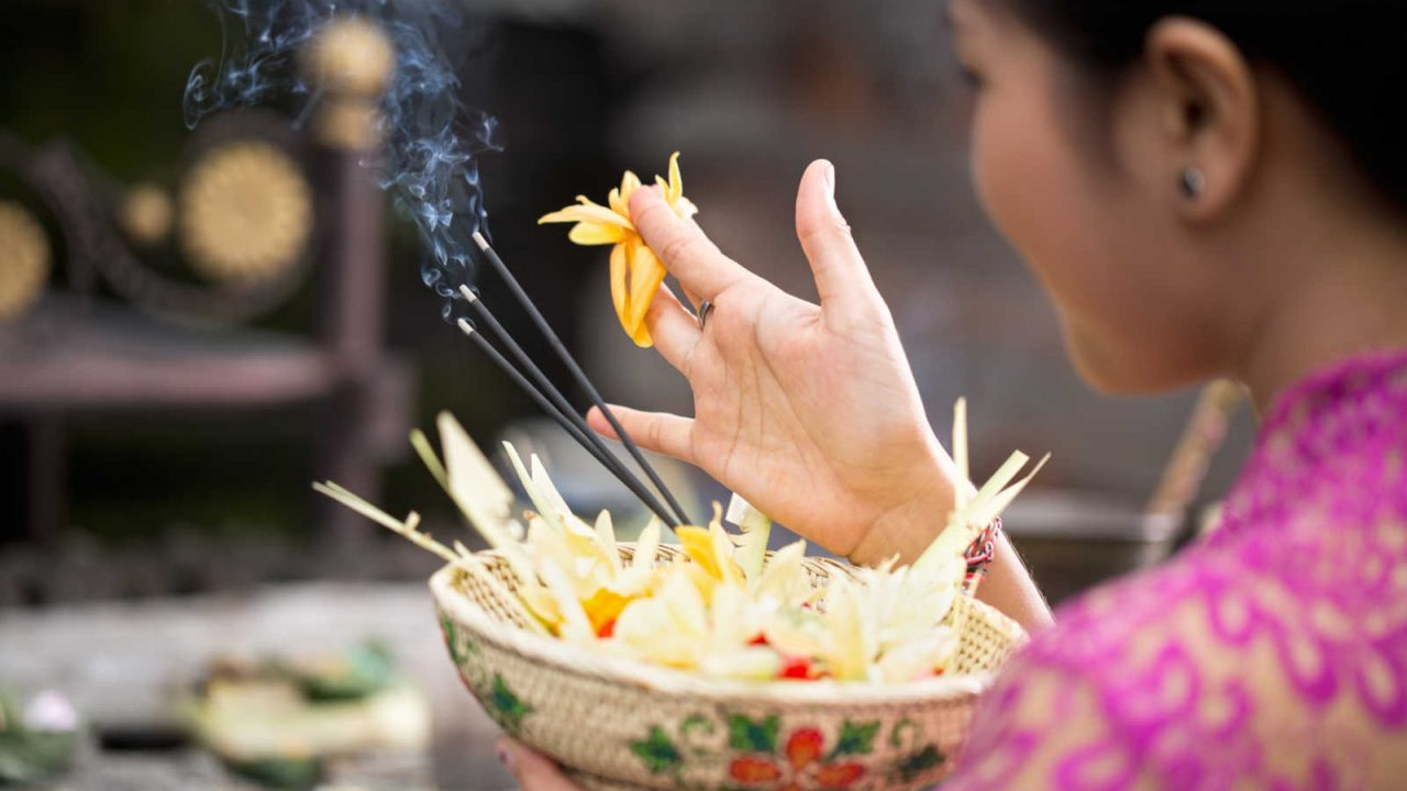 Offrandes aux Dieux Bali Oasis