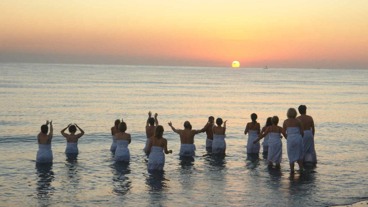 Rituel au lever de soleil Bali Oasis