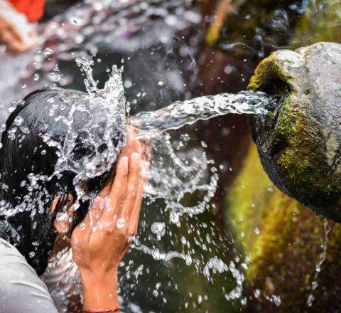 Rituel de purification Bali Oasis