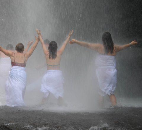 Source de purification à Bali Oasis