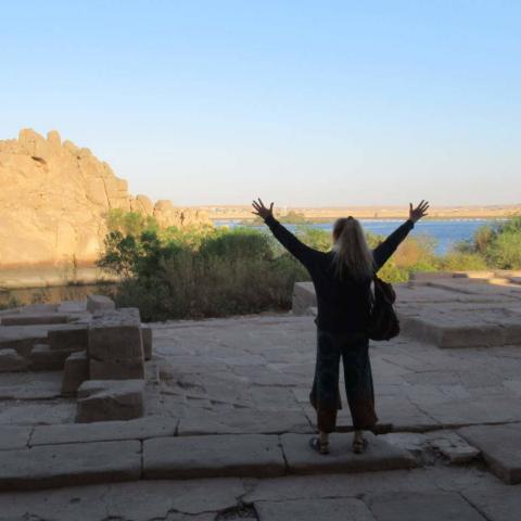 Remerciement Nil Egypte oasis