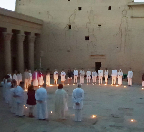 Rituel Philae Egypte Oasis