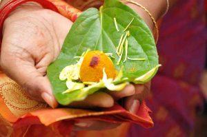 Offrandes hindouistes Ganesh, Inde, Oasis