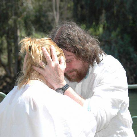 Israël baptême par Daniel Meurois Oasis