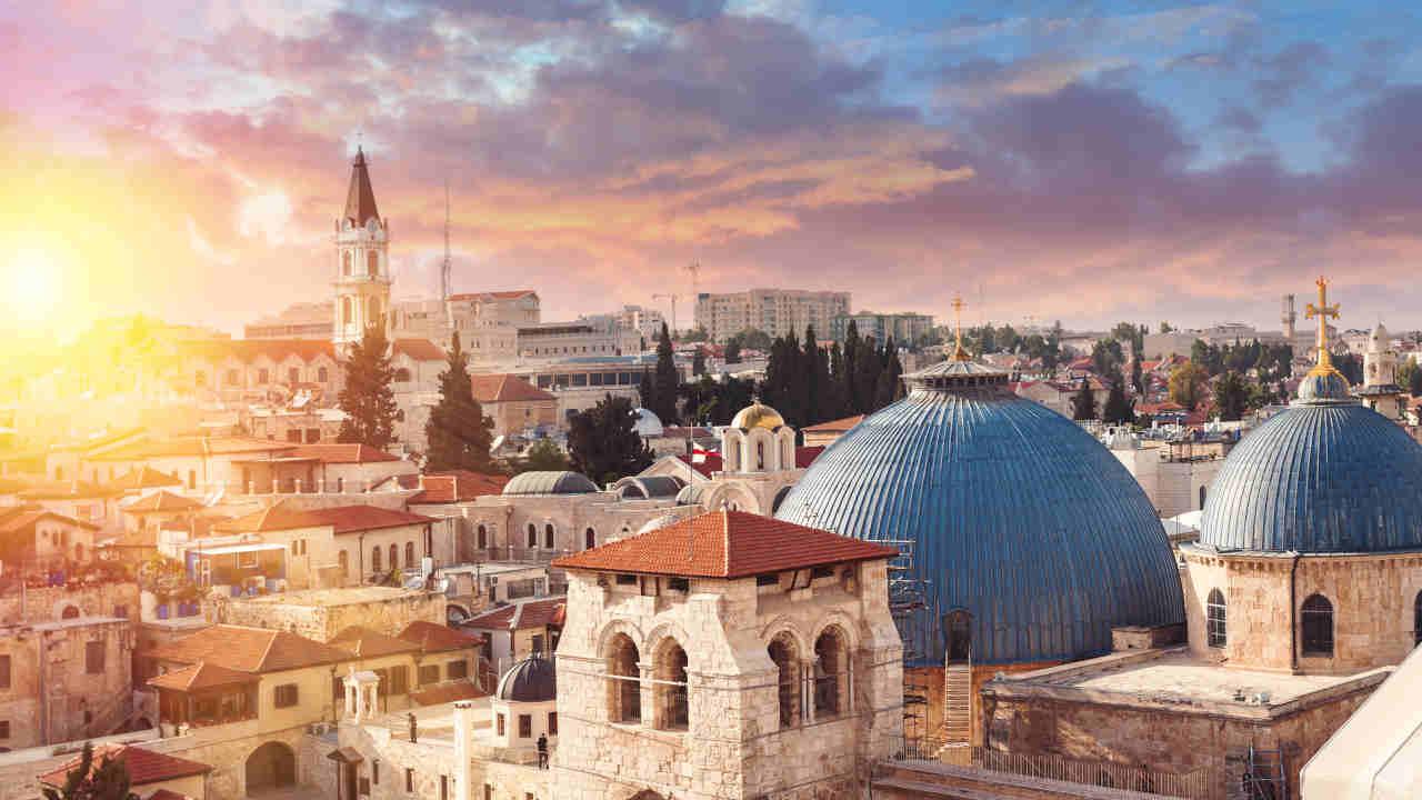 Israël Jérusalem sacrée Oasis