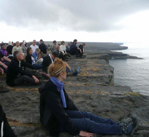 Contemplation Fort Dun Aengus Oasis