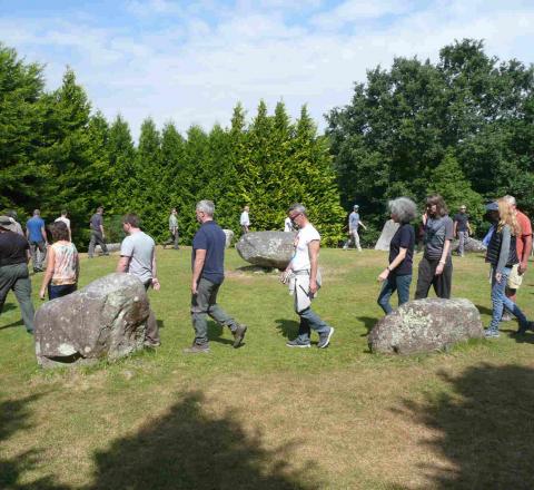Marche en conscience Kenmare Stone Circle Oasis