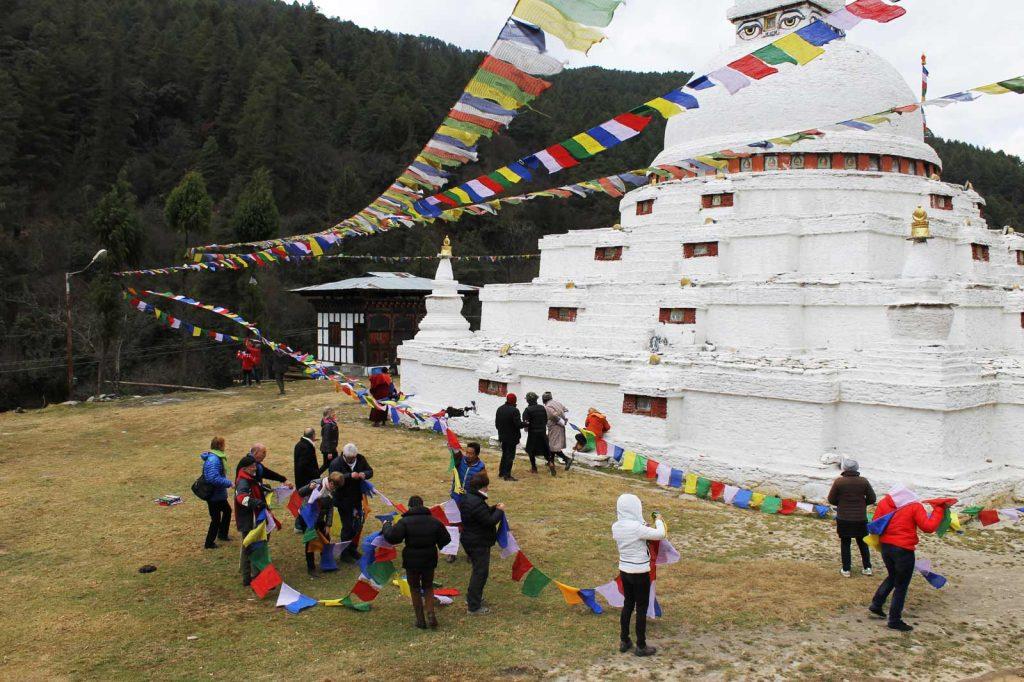 Drapeaux de prières, voyage initiatique au Bhoutan, Oasis