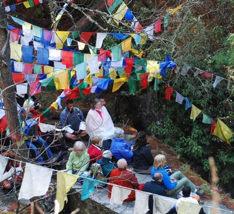 Meditation Bhoutan Oasis