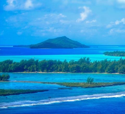 Lagon Bora Bora Polynésie Oasis