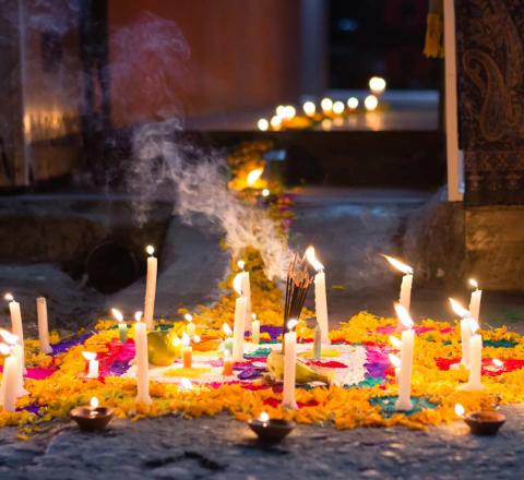 Célébration Wesak Népal Oasis