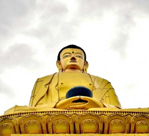 Contemplation Bouddha Népal Oasis