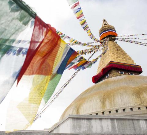 Drapeaux de prière Népal Oasis