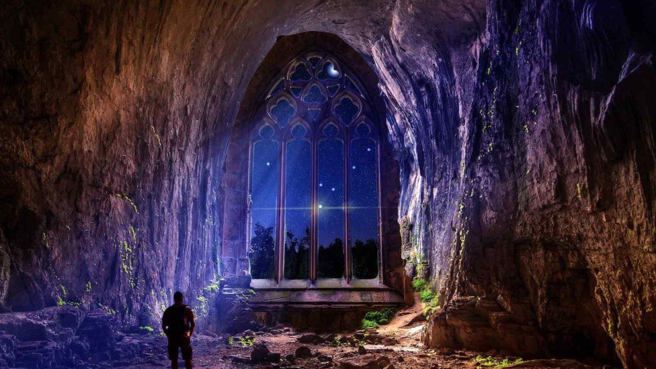 Grotte mystérieuse France séjour en conscience, Oasis