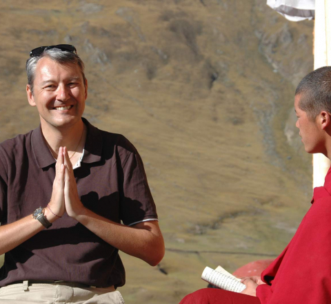 Rencontre bouddhiste Tibet Oasis