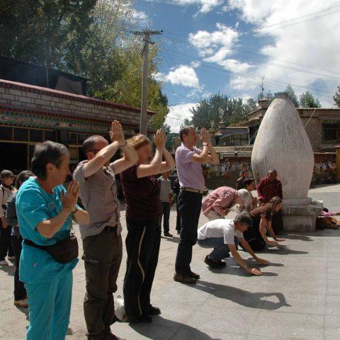 Expérience en conscience Tibet Oasis