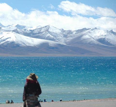 Contemplation Tibet Oasis