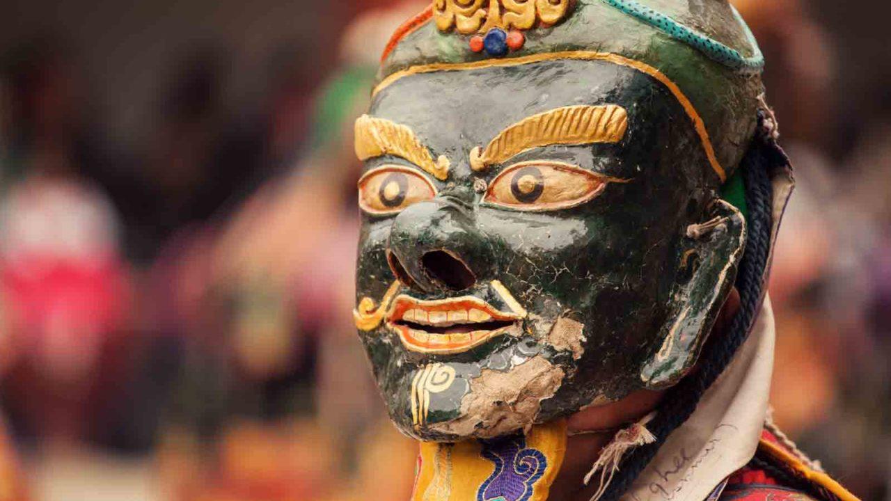 Danses masquées Tibet, voyage initiatique Oasis