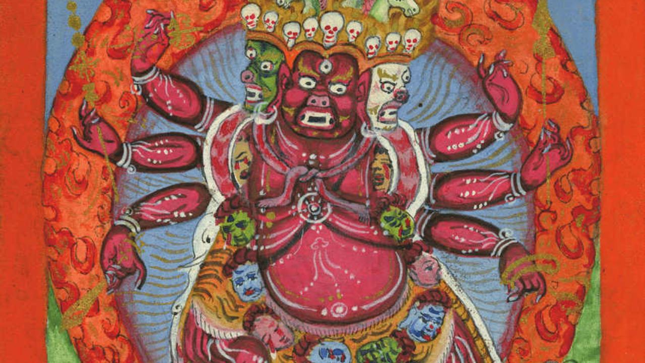Divinité Hayagriva Tibet, voyage initiatique Oasis