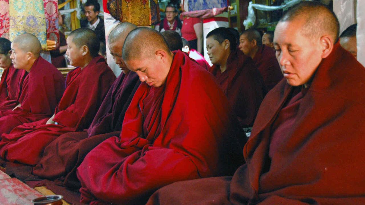 Moines tibétains, voyage initiatique Oasis