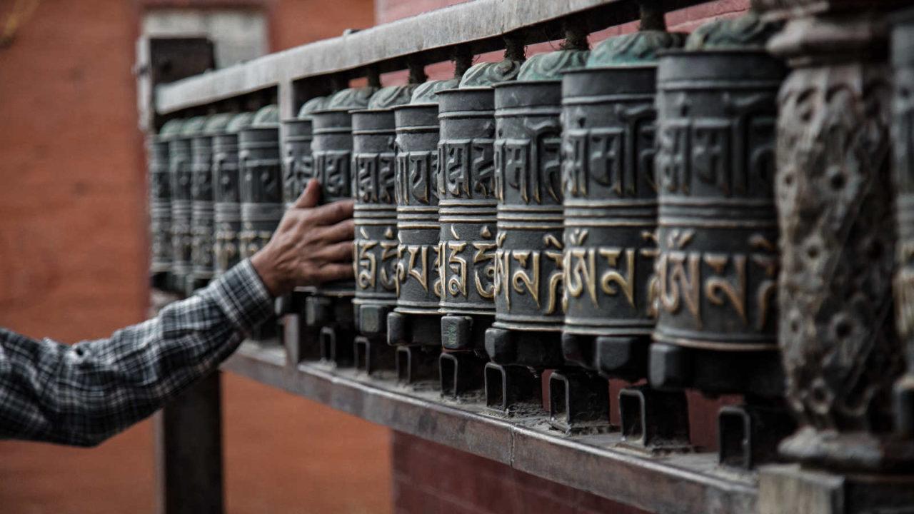 Moulin prières Tibet, voyage initiatique Oasis